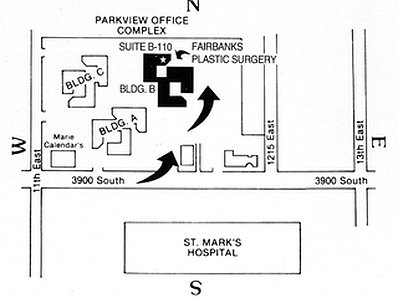map of building location