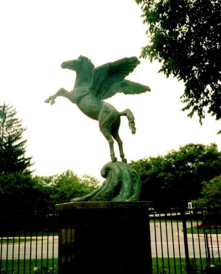 Grant R. Fairbanks Pegasus Statue